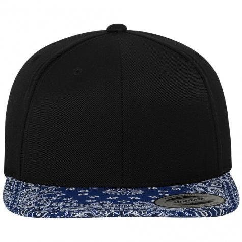 Bandana Snapback Cap black/blue