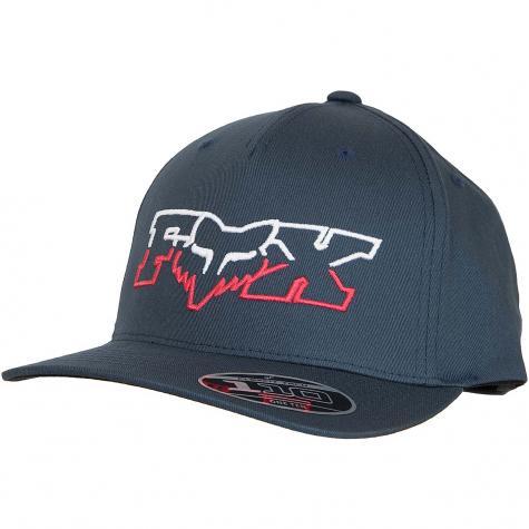 Fox Head Flexfit Cap Duel Head 110 dunkelblau/rot