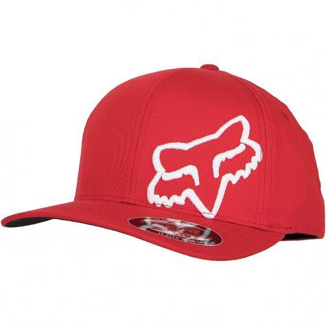 Fox Flexfit Cap Flex 45 dark red