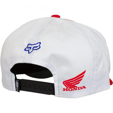 Fox Snapback Cap Honda Standard rot/weiß