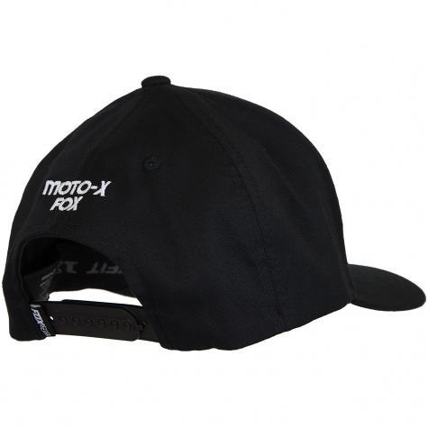 Fox Snapback Cap Legacy Heritage schwarz