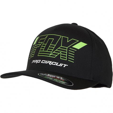 Fox Head Flexfit Cap Pro Circuit schwarz