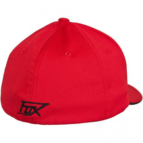 Fox Signature Flexfit Cap rot