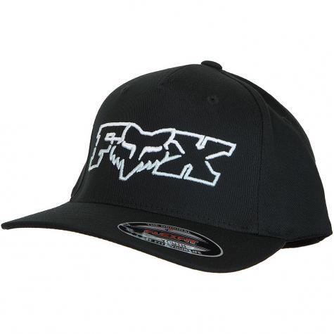 Fox Head Kinder Flexit Cap Duel Head schwarz/blau