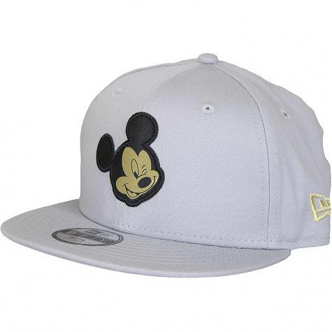 New Era 9Fifty Kinder Snapback Cap Character Mickey Mouse grau/gold