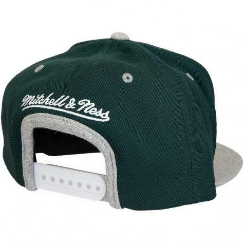 Mitchell & Ness Snapback Cap 2tone Heather Laurel Own Brand dunkelgrün/grau