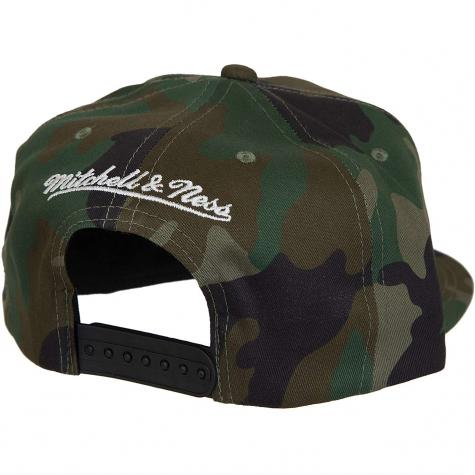 Mitchell & Ness Snapback Cap Pinscript Own Brand camouflage