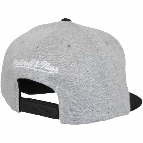 Mitchell & Ness Snapback Cap The 3-tone Pinscript Own Brand grau/schwarz