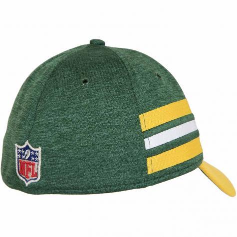 New Era 39Thirty Flexfit Cap OnField Home Greenbay Packers grün/gelb