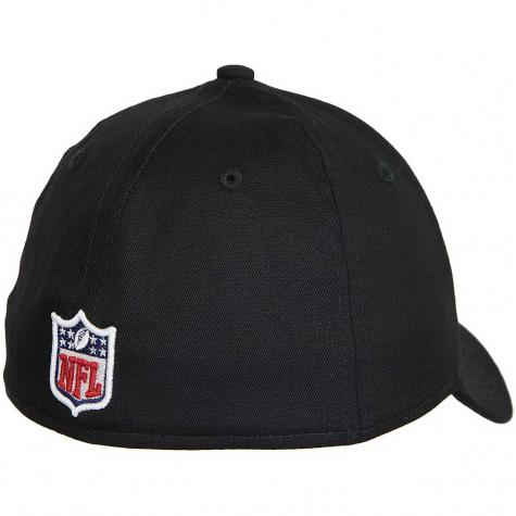 New Era 39Thirty Fitted Cap NFL New England Patriots schwarz