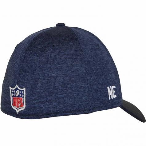 New Era 39Thirty Flexfit Cap OnField Road New England Patriots dunkelblau/grau