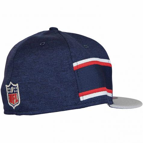 New Era 59Fifty Fitted Cap OnField Home New England Patriots dunkelblau/grau