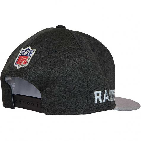 New Era 9Fifty Snapback Cap OnField Road Oakland Raiders schwarz/grau