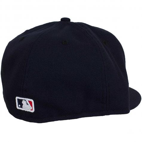 New Era 59Fifty Fitted Cap Authentic Performance Game Boston Red Sox Game schwarz/rot