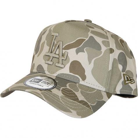 New Era Snapback Cap Camo A-Frame L.A.Dodgers camouflage