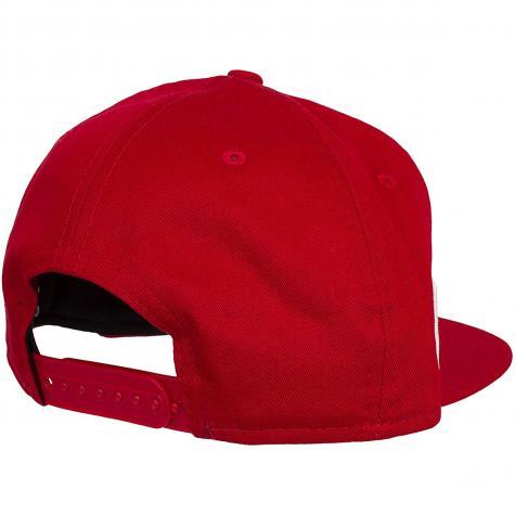 New Era 9Fifty Snapback Cap Team Logo Weld Chicago Bulls rot