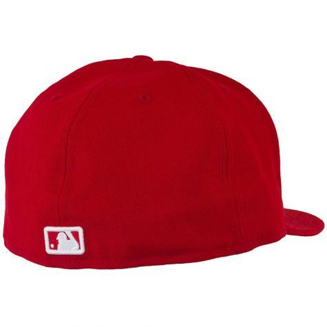 New Era 59Fifty Cap MLB Basic N.Y. rot/weiß