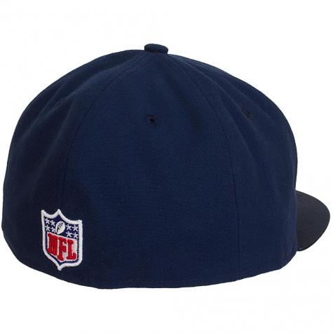 New Era 59Fifty Fitted Cap NFL Sideline New England Patriots dunkelblau