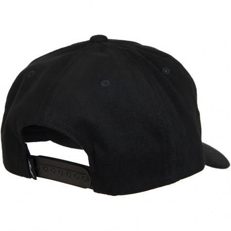 Reell Snapback Cap Curved schwarz
