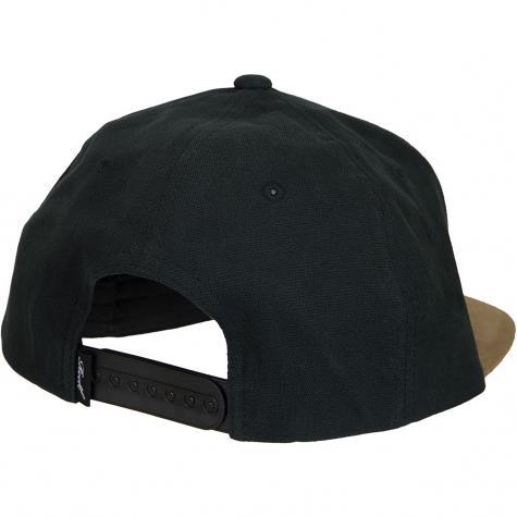 Reell Snapback Cap Suede schwarz