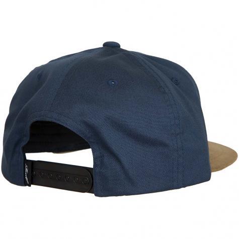 Reell Snapback Cap Suede navy