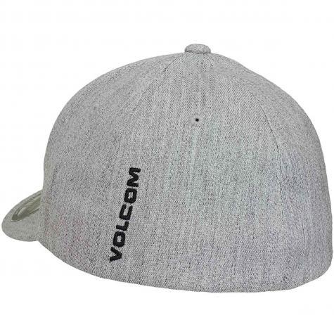 Volcom Flexfit Cap Full Stone heather grau vinta