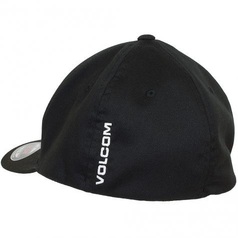 Volcom Flexfit Cap Full Stone schwarz