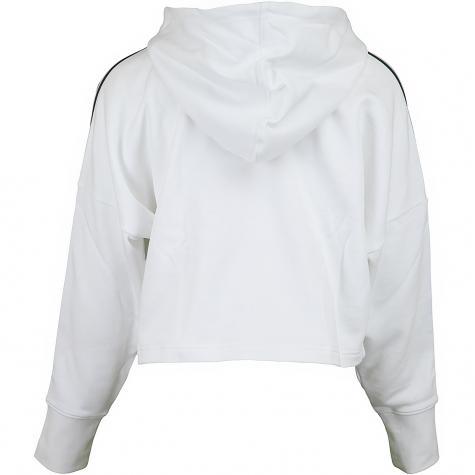 Adidas Originals Damen Hoody Cropped weiß