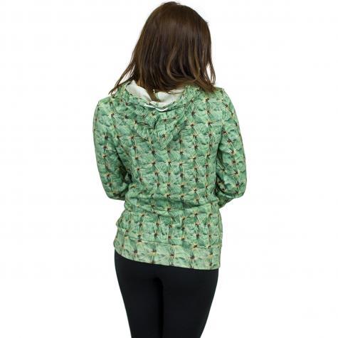 Khujo Damen Hoody Fanci cactus grün