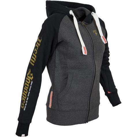 Yakuza Premium Damen Zip-Hoody 2543 schwarz