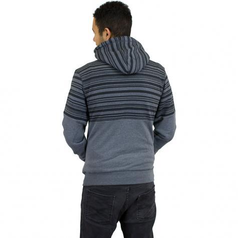 Mazine Hoody Mitcham Striped schwarz