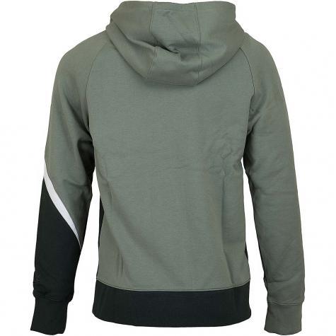 Nike Zip-Hoody HBR STMT French Terry grün