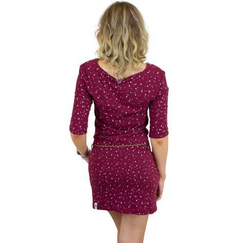 Ragwear Kleid Tanya Organic weinrot - hier bestellen!