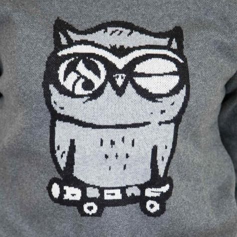 Iriedaily Damen Sweatshirt Skateowl grau