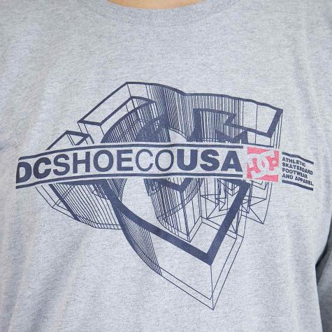 DC Shoes Longshirt Phaser grau