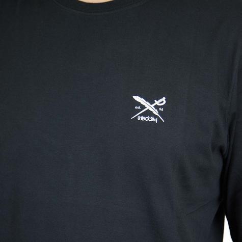 Iriedaily Longsshirt Chestflag schwarz
