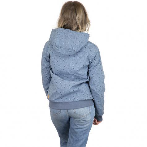Ragwear Damen-Jacke Nuggie A blau