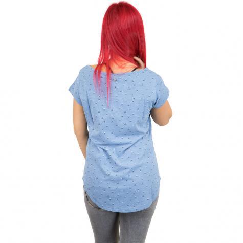 Ragwear Damen T-Shirt Rosanna lightindigo