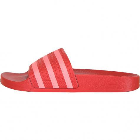 Adidas Originals Damen Badelatschen Adilette rot/pink