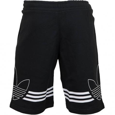 Adidas Originals Shorts Outline schwarz