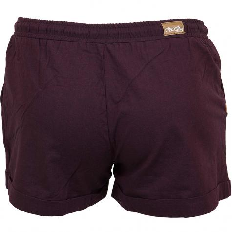 Iriedaily Damen-Shorts Chambray weinrot