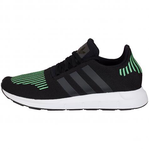 Adidas Originals Sneaker Swift Run schwarz/grün