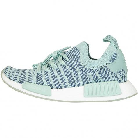 Adidas Originals Damen Sneaker NMD R1 STLT Primeknit grün/dunkelgrau