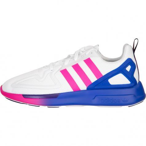 Adidas ZX 2K Flux Damen Sneaker weiß/pink