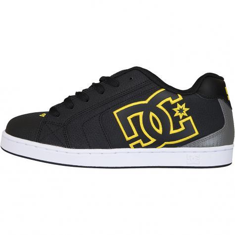DC Sneaker Net schwarz/gold
