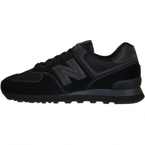 New Balance Sneaker 574 Leder/Mesh/Synthetik schwarz