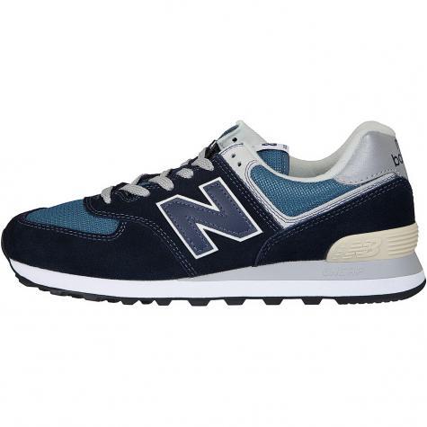 New Balance Sneaker 574 Wildleder/Mesh dunkelblau
