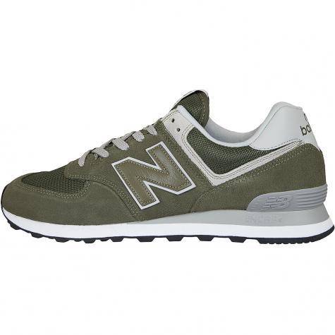 New Balance Sneaker 574 Wildleder/Mesh/Synthetik oliv