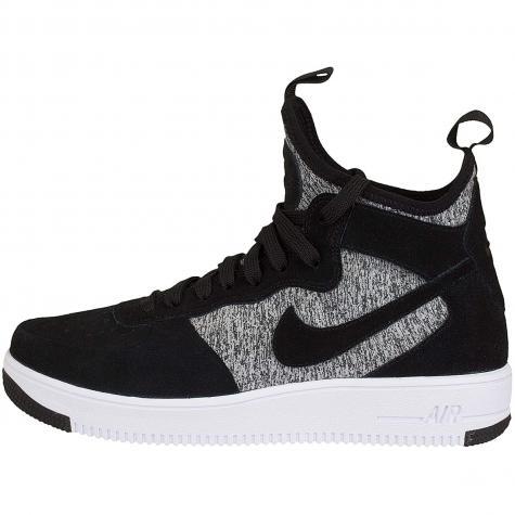 Nike Sneaker Air Force 1 UF Mid Premium schwarz/weiß