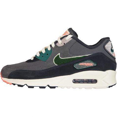 Nike Sneaker Air Max 90 Premium SE grau/grün